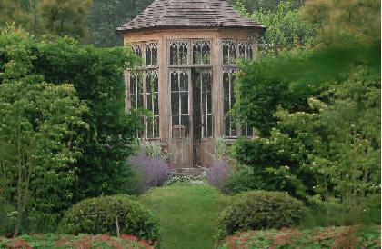 Deux jardins dans un parc romantique - Petit jardin romantique tours ...